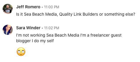 LinkedIn Thread